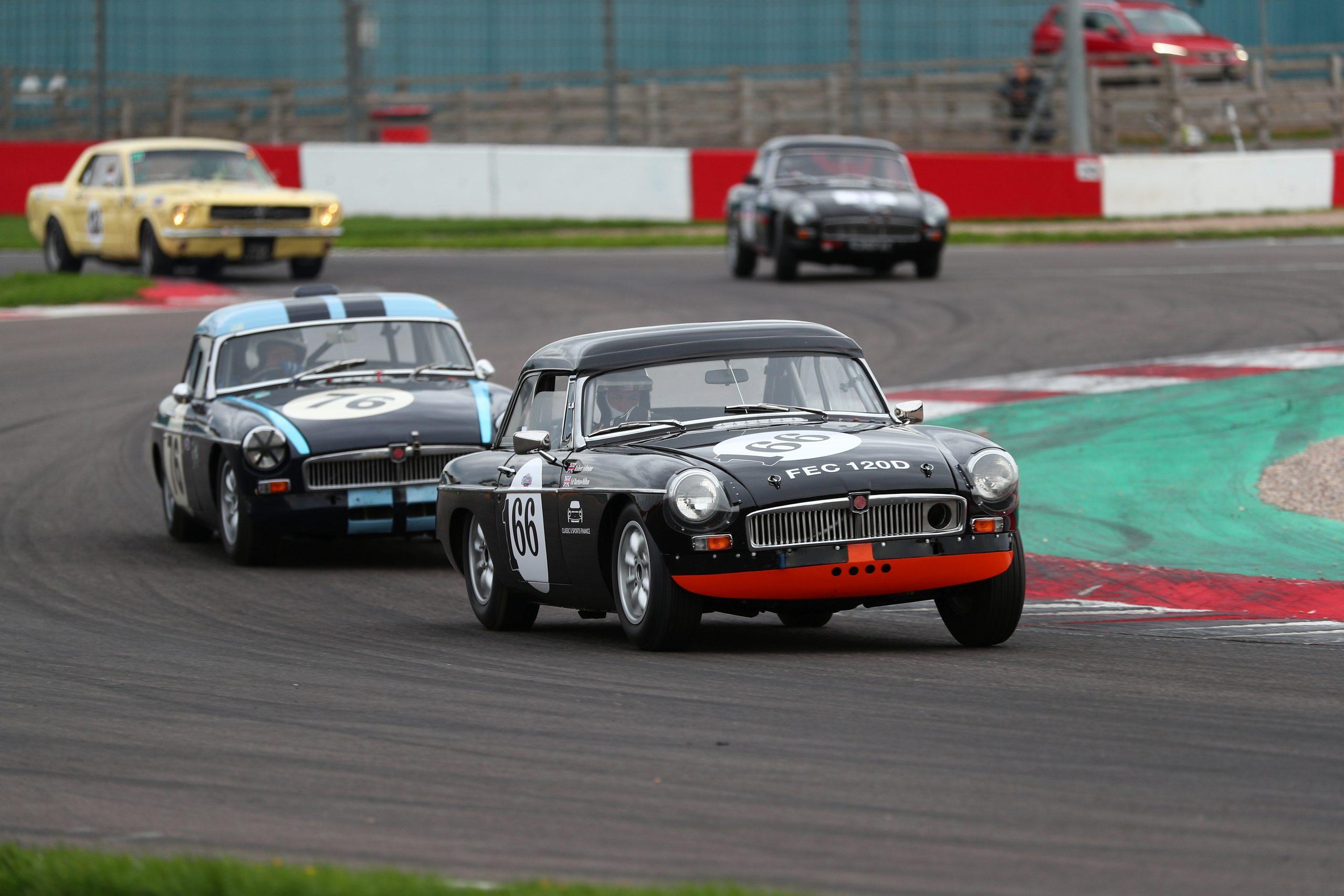 MGB Race Car Silverstone