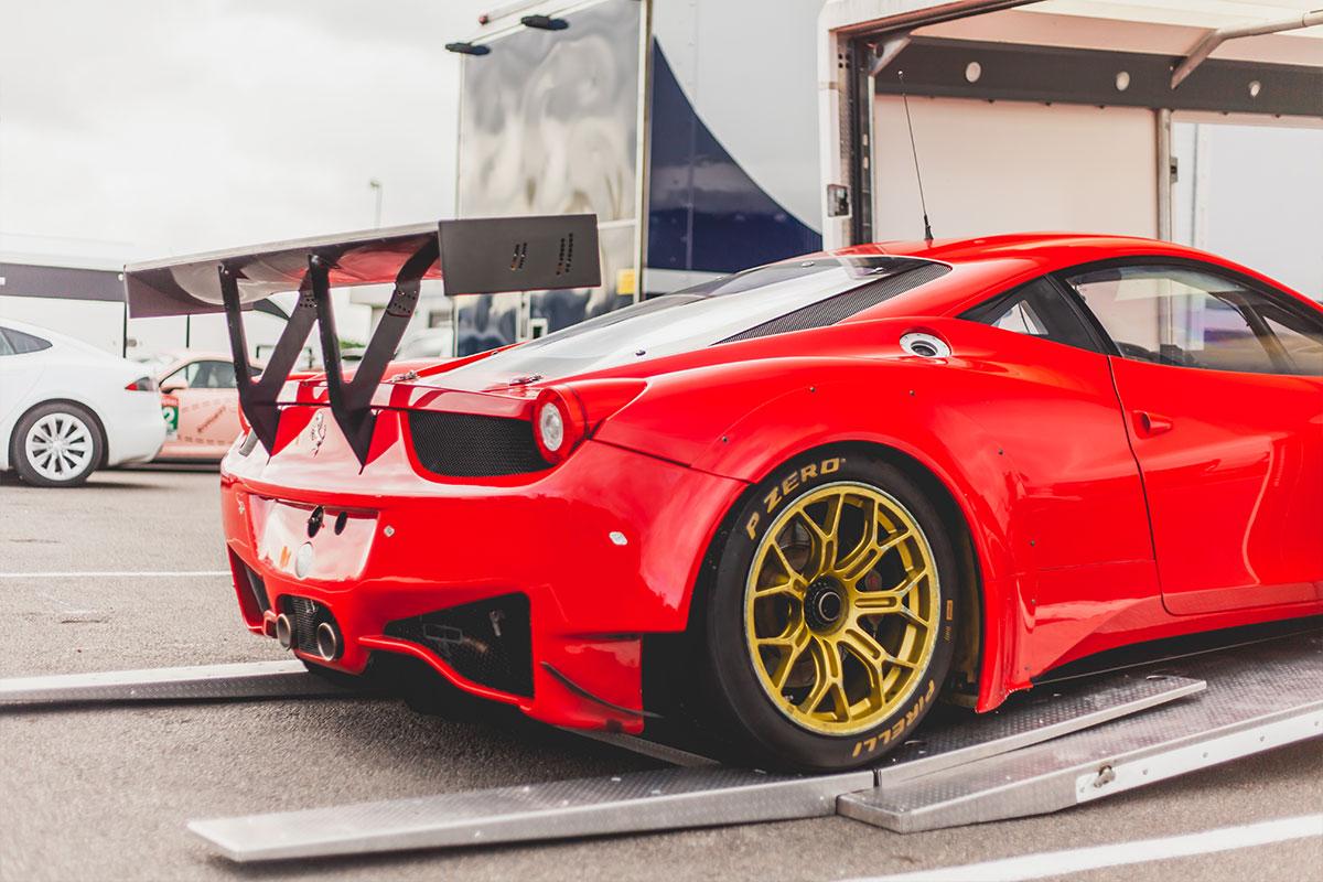 458 GT3 race car