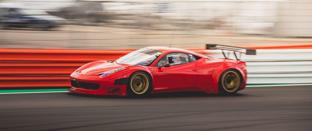 Ferrari GT3 Race Car Silverstone