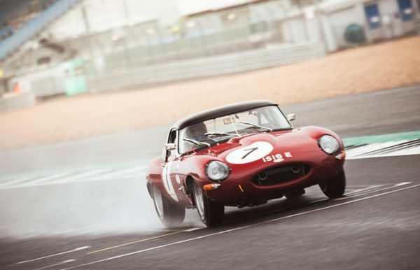 Jaguar E-Type Race Car