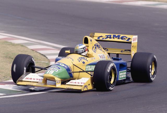 Schumacher/ Piquet/ Brundle 1991-1992 BENETTON-FORD B191/191B