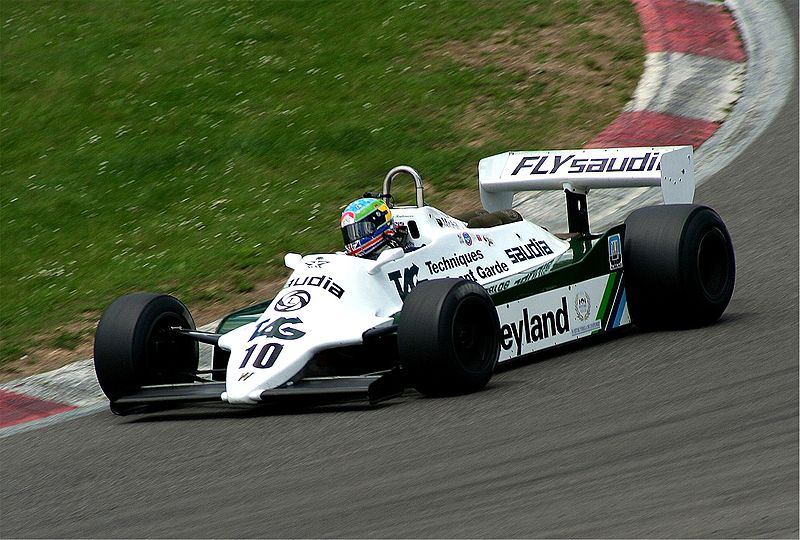 Cosworth DFV-powered Williams FW07. Image: Wikimedia Commons/ Lothar Spurzem